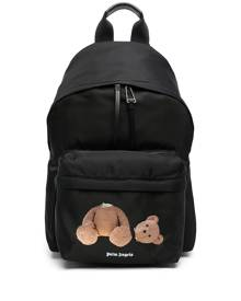 Palm Angels bear-motif backpack - Black