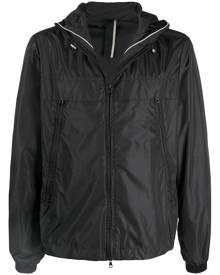 Low Brand zipped hooded jacket - Black
