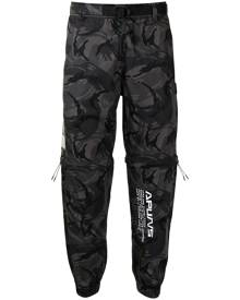 AAPE BY *A BATHING APE® camouflage-print tapered trousers - Grey