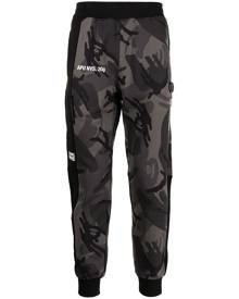 AAPE BY *A BATHING APE® camouflage-print track pants - Grey