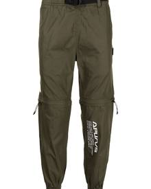 AAPE BY *A BATHING APE® convertible trousers - Green