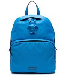 Versace Medusa-motif backpack - Blue