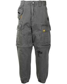 AAPE BY *A BATHING APE® tapered cargo trousers - Grey