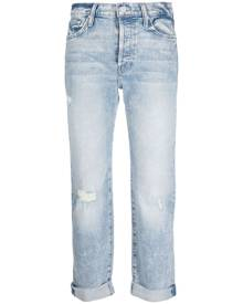 MOTHER The Scrapper cropped jeans - Blue