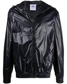 Opening Ceremony warped logo-print windbreaker jacket - Black