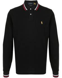 Polo Ralph Lauren Polo Pony embroidered polo shirt - Black