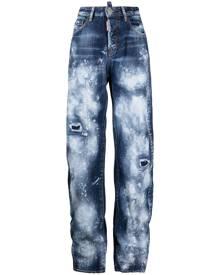 Dsquared2 Pain Job distressed-effect jeans - Blue