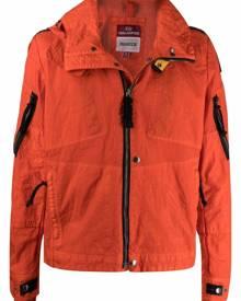 Parajumpers zipped hooded jacket - Orange