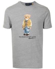 Polo Ralph Lauren Polo Bear-print cotton T-shirt - Grey