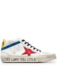 Golden Goose Mid Star sneakers - White
