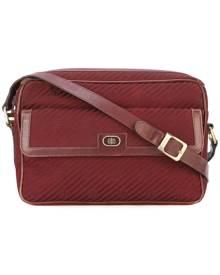 Emilio Pucci Vintage - monogram logo shoulder bag - women - Cotton/Leather - One Size - RED