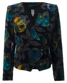 Emanuel Ungaro Vintage floral jacket - Black