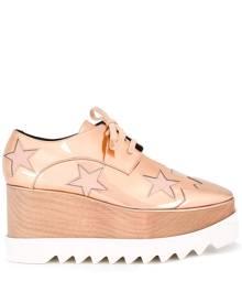 Stella McCartney Elyse star platform shoes - Pink & Purple