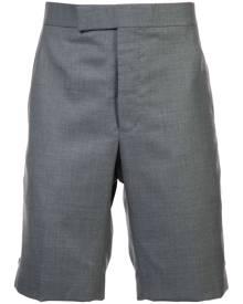 Thom Browne - Classic Backstrap Short In Medium Grey Super 120's Twill - men - Cupro/Wool - 0, 2, 3, 00, 1 - GREY