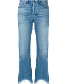 3X1 - Austin cropped jeans - women - Cotton - 25, 26, 28, 27, 24, 29 - BLUE