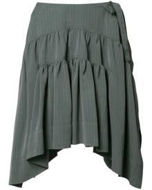 JW Anderson Drape mini skirt - Grey