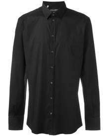 Dolce & Gabbana - classic shirt - men - Cotton/Spandex/Elastane - 39, 41, 38, 40, 42, 44 - BLACK