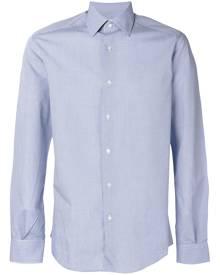 Fashion Clinic Timeless micro check classic shirt - Blue