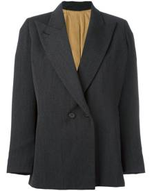 Jean Paul Gaultier Vintage peaked lapel blazer - Grey