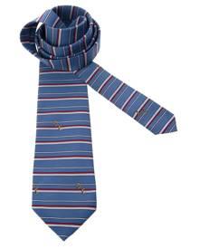 Pierre Cardin Vintage striped tie - Blue