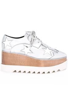 Stella McCartney Elyse platform shoes - Metallic
