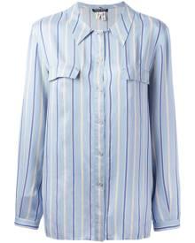 Giorgio Armani Vintage striped shirt - Blue