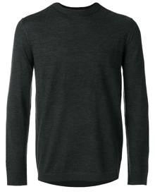 Emporio Armani - crew-neck jumper  - men - Wool - S, M, L, XL, XXL - GREY