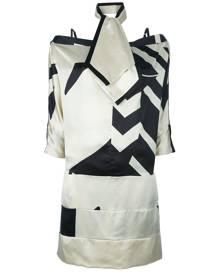 Gianfranco Ferre Vintage - 3-piece skirt suit - women - Silk - 42 - NUDE & NEUTRALS