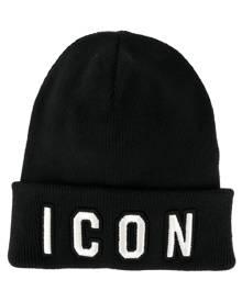 Dsquared2 Icon beanie - Black