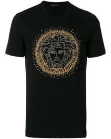 Versace Medusa studded T-shirt - Black