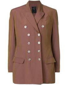 Jean Paul Gaultier Vintage double breasted blazer - Brown