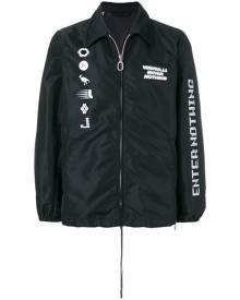 Lanvin Enter Nothing bomber jacket - Black