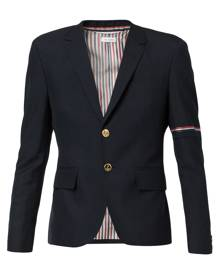 Thom Browne single-breasted blazer - Blue