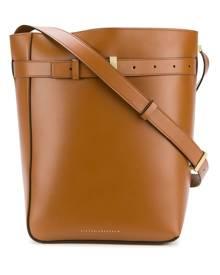 Victoria Beckham Twin bucket bag - Brown