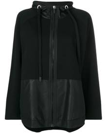 No Ka' Oi hooded sport jacket - Black