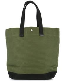 Cabas - large shopper tote bag - unisex - Cotton - One Size - GREEN