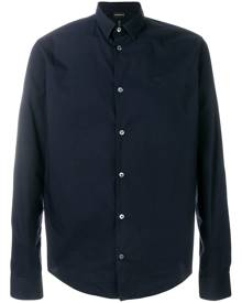 Emporio Armani classic button-down shirt - Blue