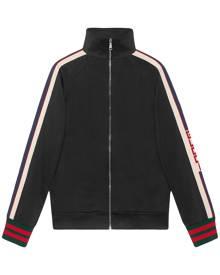 Gucci - Technical jersey jacket - men - Cotton/Polyester - XS, L, XXL, XXXL - BLACK