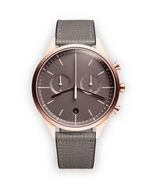 Uniform Wares C39 chronograph watch - Grey