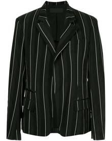 Haider Ackermann classic pinstriped blazer - Black