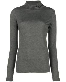 Moschino Vintage funnel neck top - Grey
