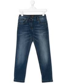 Dolce & Gabbana Kids slim-fit jeans - Blue