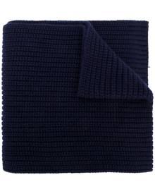 Dolce & Gabbana ribbed knit scarf - Blue