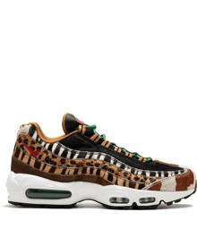 Nike - Air Max 95 DLX sneakers - men - rubber/Polyester/Pony Hair - 8, 8.5, 9, 10, 10.5 - NUDE & NEUTRALS