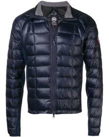 Canada Goose - down jacket - men - Nylon/Polyester/Spandex/Elastane/Feather Down - S, M, L, XL, XXL - BLUE
