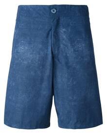 Fashion Clinic Timeless washed swim shorts - Blue