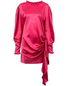 Magda Butrym draped tie waist dress - Pink
