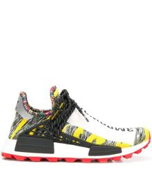Adidas By Pharrell Williams yellow, grey and red x Pharrell Williams afro NMD sneakers