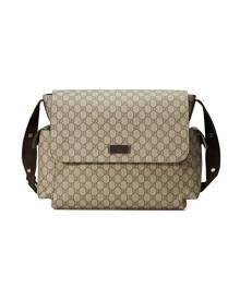 Gucci Kids GG Supreme diaper bag - Neutrals
