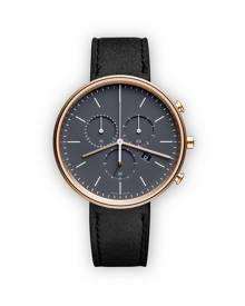 Uniform Wares M40 Chronograph watch - Metallic